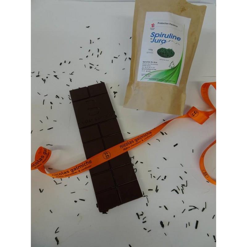 Chocolat à la Spiruline